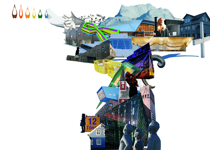 Collage de Norteuropa. MÁRGENES ARQUITECTURA, nº4