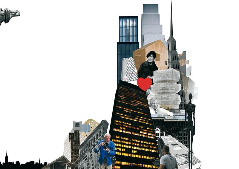 Collage de New York. Aquí, ahora.MÁRGENES ARQUITECTURA, nº6