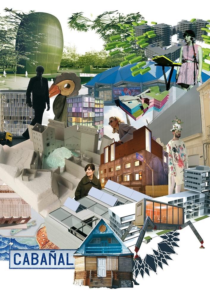 Collage, nº1 Reciclaje Urbano. MÁRGENES ARQUITECTURA