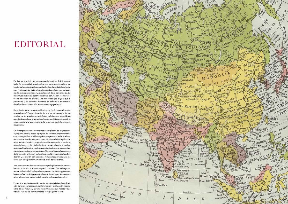 Editorial .El Margen Asiático. MÁRGENES ARQUITECTURA, nº9