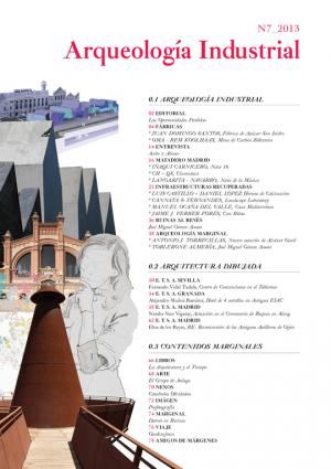 Índice. Arqueología industrial.MÁRGENES ARQUITECTURA, nº7