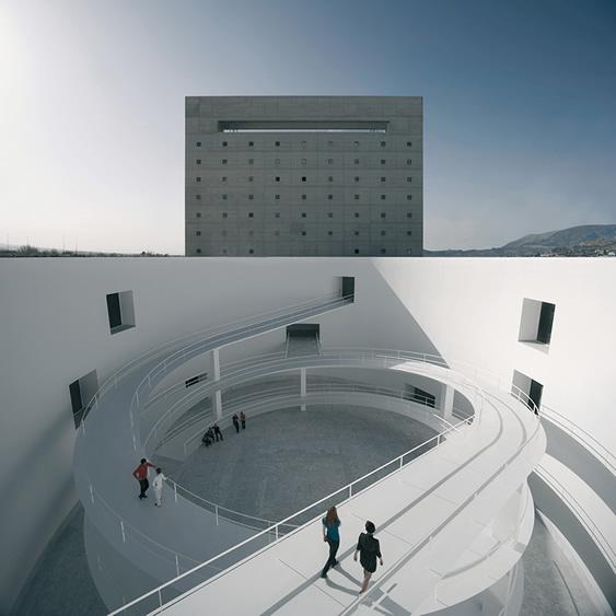 Museo de Andalucía. Granada. Aquí, ahora. MÁRGENES ARQUITECTURA
