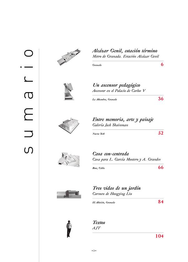Sumario Márgenes Arquitectura 10
